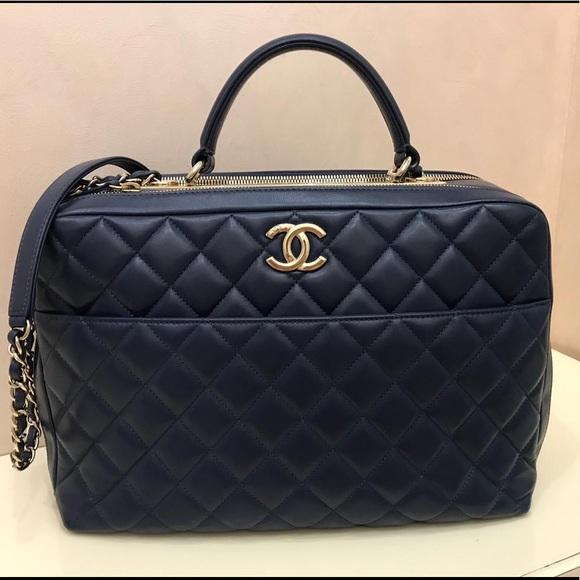 3cf3433d1515 CHANEL Bags | Trendy Cc Large Handle Flap Bag | Poshmark